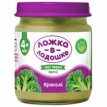 Lozhka v Ladoshke Broccoli Puree 100g - buy, prices for Furshet - image 1