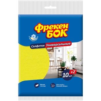 Freken Bok Napkins for cleaning universal 10+2pcs - buy, prices for Auchan - photo 1