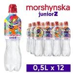 Вода минеральная Моршинская JuniorZ негазированная 0,5л