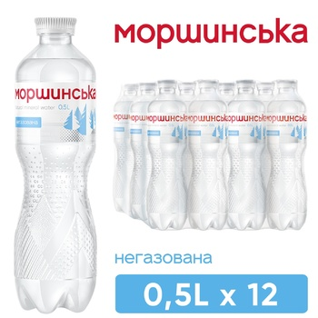 Still natural mineral water Morshynska 0,5l