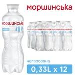 Вода минеральная Моршинска негазированная 0,33л