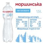 Минеральная вода Моршинская негазированная 1.5л - купить, цены на Метро - фото 3