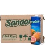 Сок Sandora грейпфрутовый 0,95л опт*10шт