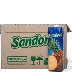 Нектар Sandora ананасовый 0,95л опт*10шт