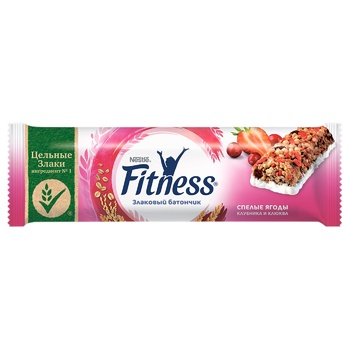 NESTLÉ® FITNESS® Berry cereal bar 23,5g - buy, prices for EKO Market - photo 1