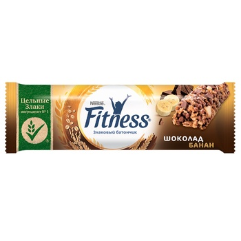 NESTLÉ® FITNESS® Banana and Chocolate cereal bar 23,5g - buy, prices for EKO Market - photo 1