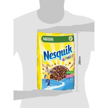 NESTLÉ® NESQUIK® Alphabet cereal 460g - buy, prices for CityMarket - photo 2