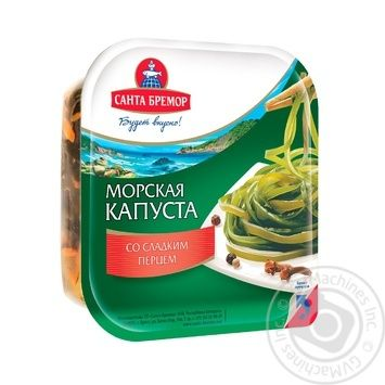 Santa Bremor With Onion And Sweet Pepper Laminaria 150g - buy, prices for Novus - image 1