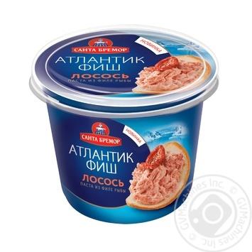 Santa Bremor Atlantic Salmon fish fillet paste 140g - buy, prices for Auchan - image 1