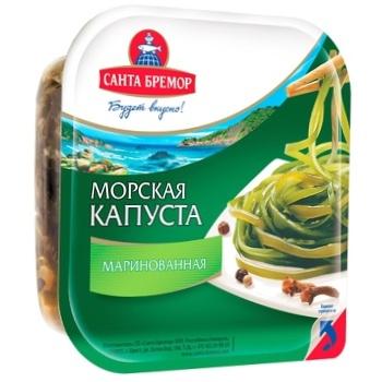 Santa Bremor pickled laminaria 150g - buy, prices for CityMarket - photo 1