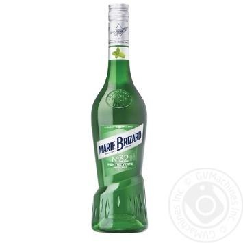 Ликер Marie Brizard Menthe Verte Green Mint 25% 0,7л