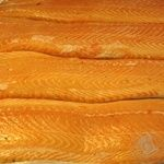 Fish atlantic salmon fresh