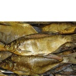 Fish bream Shelf cold-smoked