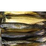 Fish atlantic mackerel Shelf cold-smoked