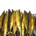 Fish saury Shelf cold-smoked