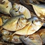 Fish vomer Shelf cold-smoked