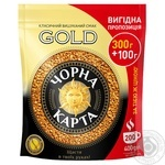 Chorna Karta Gold instant coffee 400g - buy, prices for MegaMarket - image 1