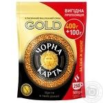Кофе Черная Карта Gold растворимый 500г