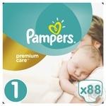 Підгузники Pampers Premium Carе New Born 1 2-5кг 88шт
