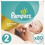 Подгузники Pampers Premium Carе New Born 2 3-6кг 80шт - купить, цены на Novus - фото 1