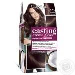 L'Oreal Paris Casting 323 Black Chocolate Ammonia-Free Hair Dye