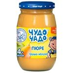Chudo-Chado pear-apple puree without sugar for children from 4 months 170g