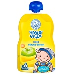 Chudo-Chado apple-banana puree without sugar for children from 6 months 90g
