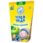 Сок Чудо-Чадо яблочно-черничный 0,125л