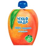 Chudo Chado Puree for Children Peach without Sugar 90g