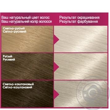 Краска для волос Color Sens тон 910 - купить, цены на Novus - фото 2