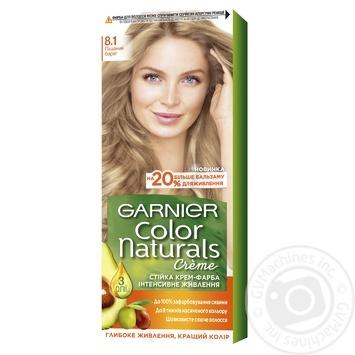 Garnier Color Naturals Creme 8.1 Light Ash Blonde Hair Color - buy, prices for Novus - image 1