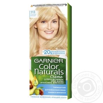 Краска д/волос Garnier Color Naturals 113Пес.бл шт - купить, цены на Ашан - фото 1