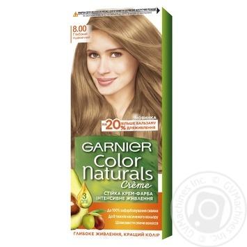 Краска для волос Garnier Color Naturals Creme с 3-мя маслами 8.00 Глубокий пшеничный - купить, цены на Novus - фото 1