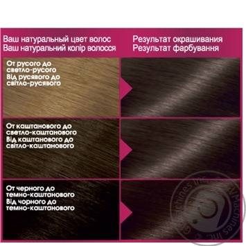 Garnier Color Sensation 4.0 Chestnut Hair Color - buy, prices for Novus - image 2
