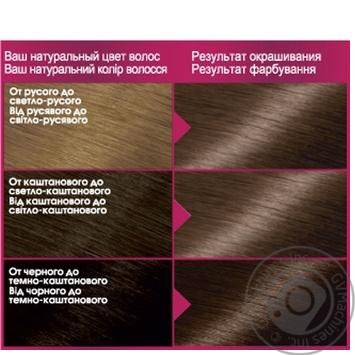 Крем-краска для волос Garnier Color Sensation №6.0 Лесной орех - купить, цены на Novus - фото 2