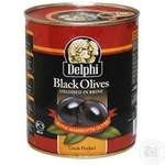 olive Delfi black with bone 850ml Greece