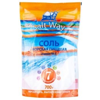 Сіль Salt Way Харчова морська 700г