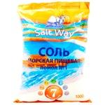 Соль Salt Way морськая пищевая натуральная 1кг