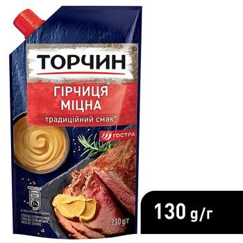 Гірчиця ТОРЧИН® Міцна 130г - купити, ціни на ЕКО Маркет - фото 4