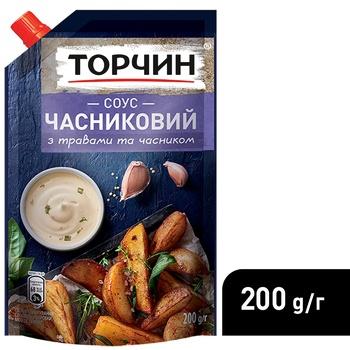 Соус ТОРЧИН® Чесночный 200г - купить, цены на Novus - фото 4