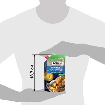 Горчица ТОРЧИН® Американская мягкий вкус 230г - купить, цены на Ашан - фото 3
