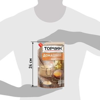 Майонез ТОРЧИН® Домашний 580г - купить, цены на Метро - фото 3