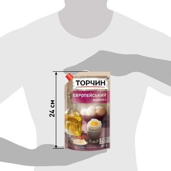 Майонез ТОРЧИН® Европейский 580г - купить, цены на Метро - фото 3