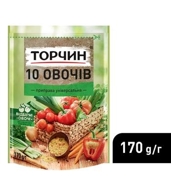 TORCHYN® 10 Vegetables universal seasoning 170g - buy, prices for CityMarket - photo 4