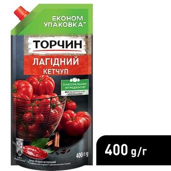 Кетчуп ТОРЧИН® Нежный 400г - купить, цены на Novus - фото 4