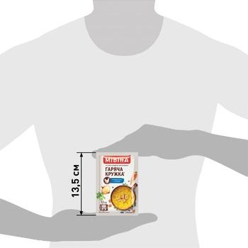 Суп-пюре МИВИНА® Горячая Кружка Куриный с гренками 12г - купить, цены на ЕКО Маркет - фото 3