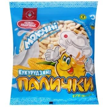 Mac-Dak Milky Sweet Unglazed Corn Sticks 175g - buy, prices for CityMarket - photo 2