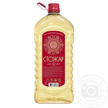 Stozhar Rafined Sunflower Oil 3l - buy, prices for MegaMarket - image 1