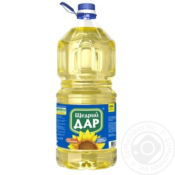 Shchedryi Dar Refined Sunflower Oil 3l - buy, prices for Novus - image 1