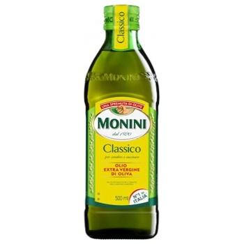 Масло оливковое Monini Extra Virgin первого холодного отжима 0,5л